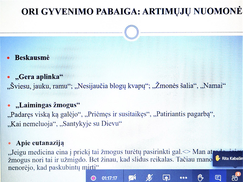 JAUTRUS ŠVIESUS SUSITIKIMAS SU LSMU MOKSLININKAIS